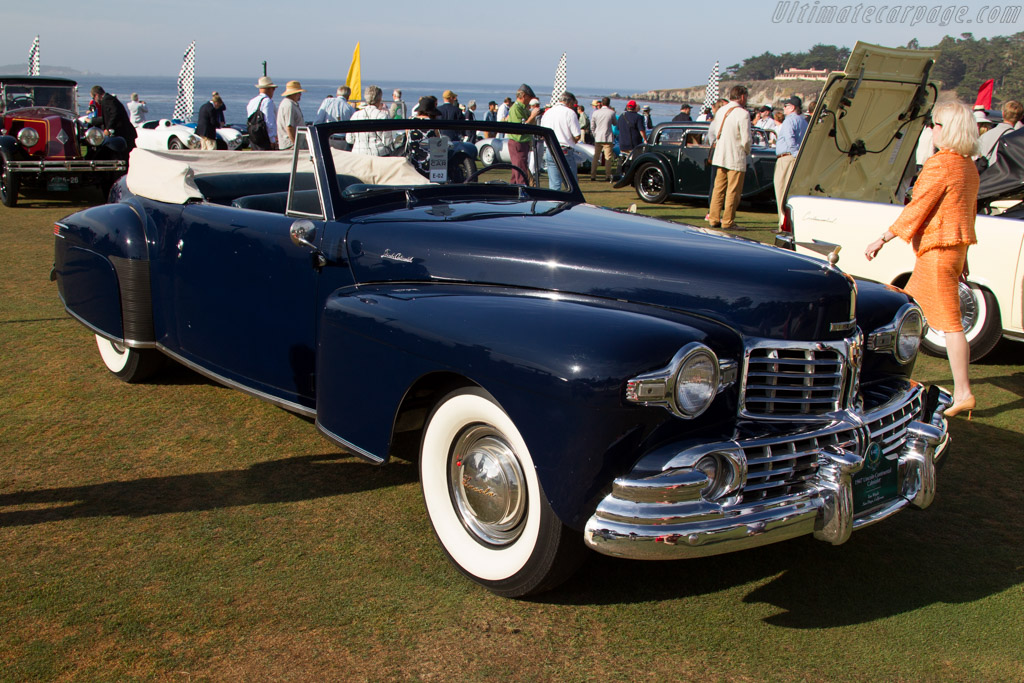 Lincoln Continental Cabriolet  - Entrant: Tom Wright  - 2015 Pebble Beach Concours d'Elegance