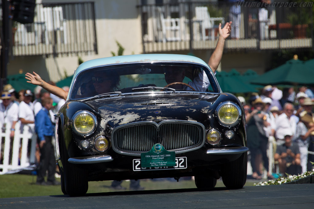 Maserati A6G/54 2000 Frua Coupe - Chassis: 2140 - Entrant: Jonathan & Wendy Segal  - 2015 Pebble Beach Concours d'Elegance