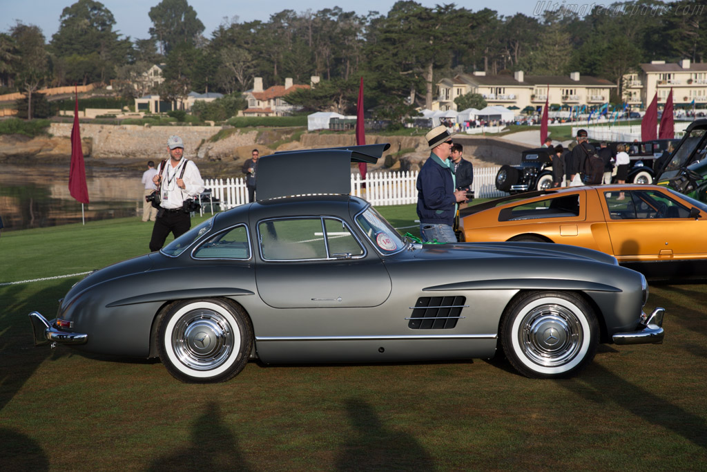 Mercedes-Benz 300 SL Gullwing Coupe  - Entrant: Andries Meuzelaar  - 2015 Pebble Beach Concours d'Elegance