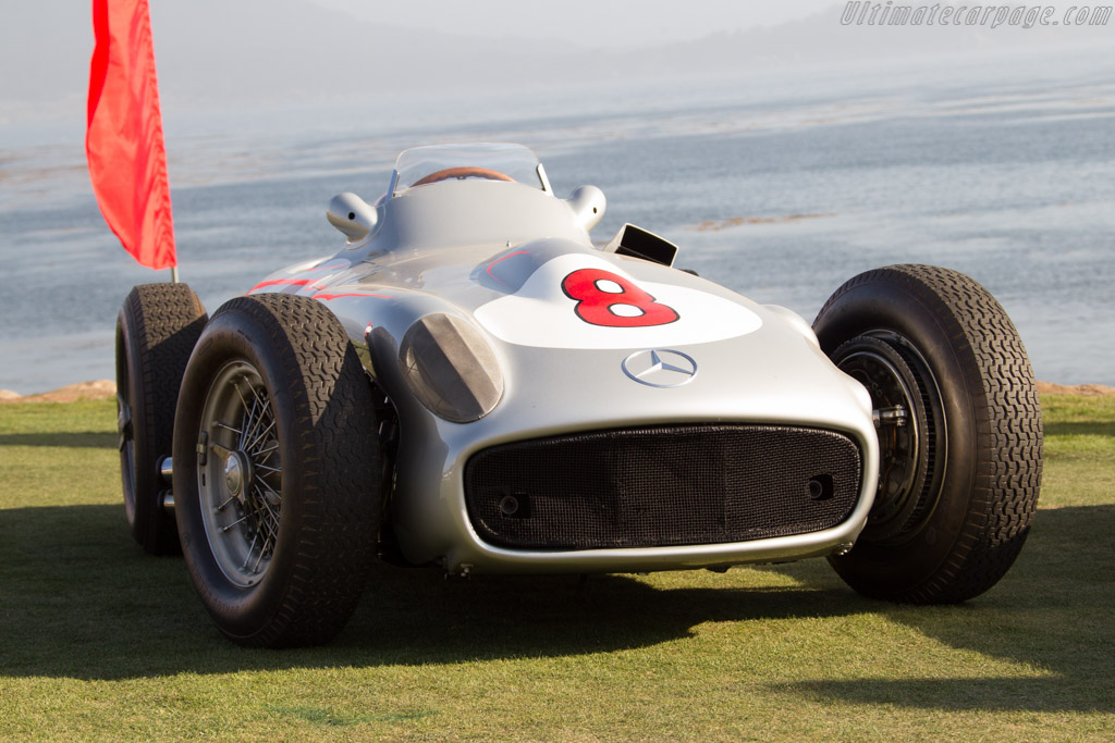Mercedes-Benz W196 - Chassis: 000 13/55 - Entrant: Daimler AG  - 2015 Pebble Beach Concours d'Elegance