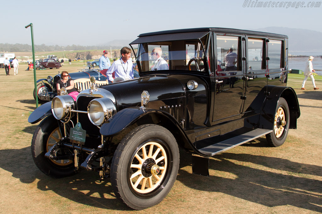 Mercer Series 5 Brewster Limousine  - Entrant: Albert L. Taylor and Robery Hoff Jr.  - 2015 Pebble Beach Concours d'Elegance