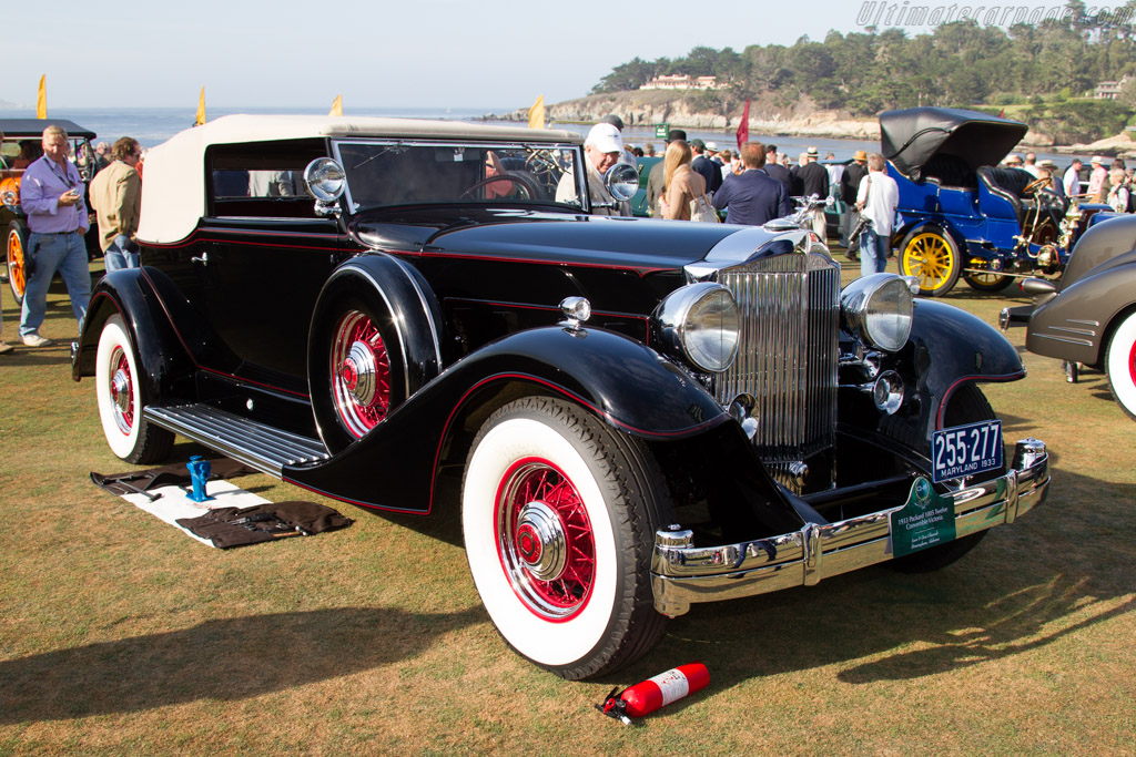 Packard 1005 Twelve Convertible Victoria  - Entrant: Jean & Don Ghareeb  - 2015 Pebble Beach Concours d'Elegance