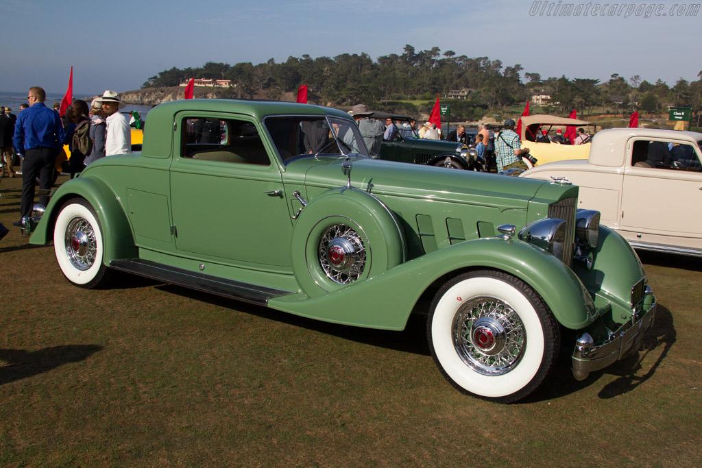 Packard 1108 Twelve Dietrich Stationary Coupe  - Entrant: Samuel Lehrman  - 2015 Pebble Beach Concours d'Elegance