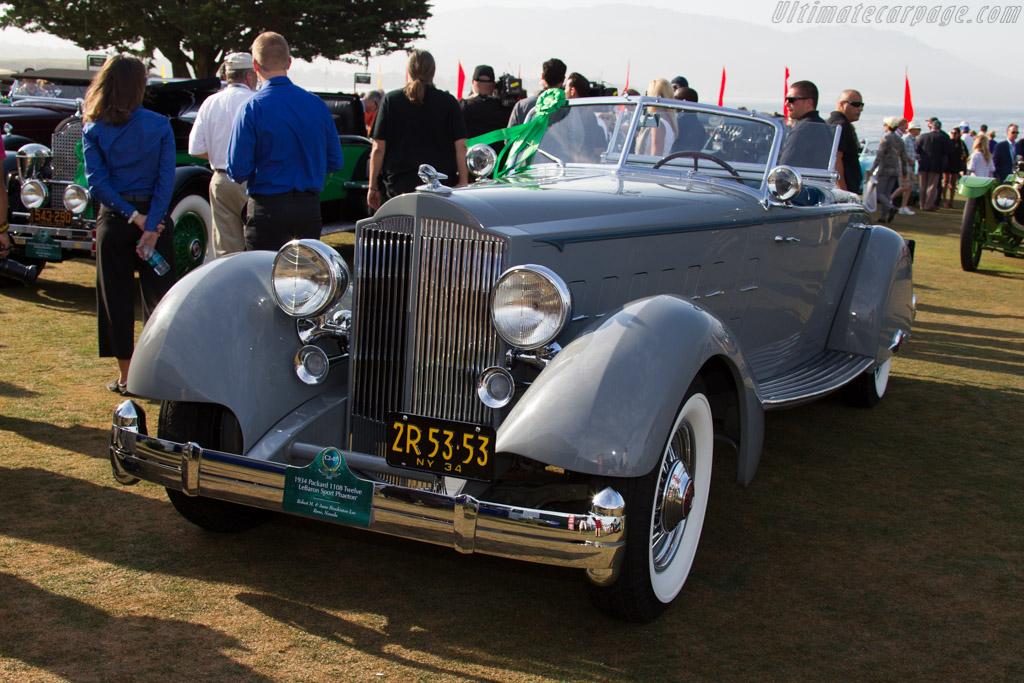 Packard 1108 Twelve LeBaron Sport Phaeton  - Entrant: Robert M. & Anne Brockington Lee  - 2015 Pebble Beach Concours d'Elegance