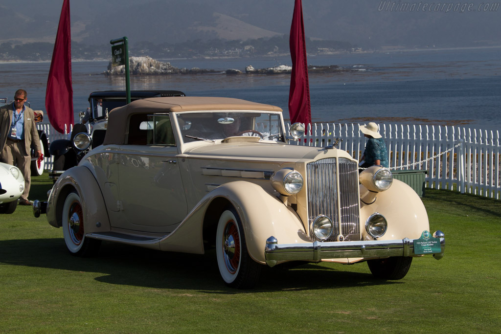 Packard 1207 Twelve Coupe Roadster  - Entrant: Brent Merrill  - 2015 Pebble Beach Concours d'Elegance
