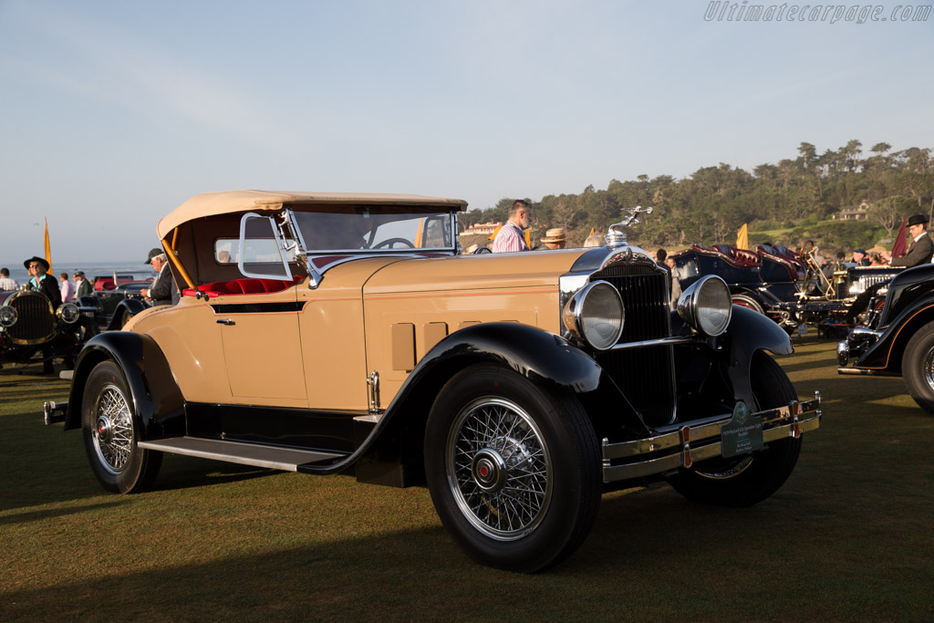 Packard 626 Speedster Eight Roadster  - Entrant: The Henry Ford  - 2015 Pebble Beach Concours d'Elegance