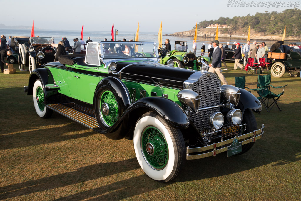 Packard 645 Deluxe Eight Rollston Roadster  - Entrant: Richard R. Rawlings  - 2015 Pebble Beach Concours d'Elegance