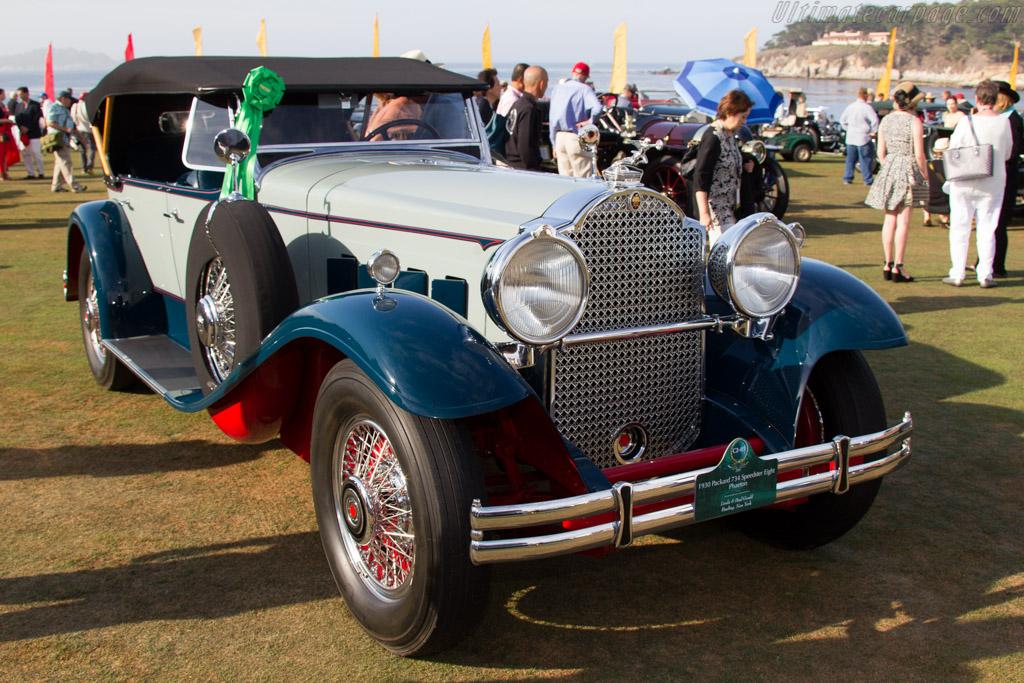 Packard 734 Speedster Eight Phaeton  - Entrant: Linda & Paul Gould  - 2015 Pebble Beach Concours d'Elegance