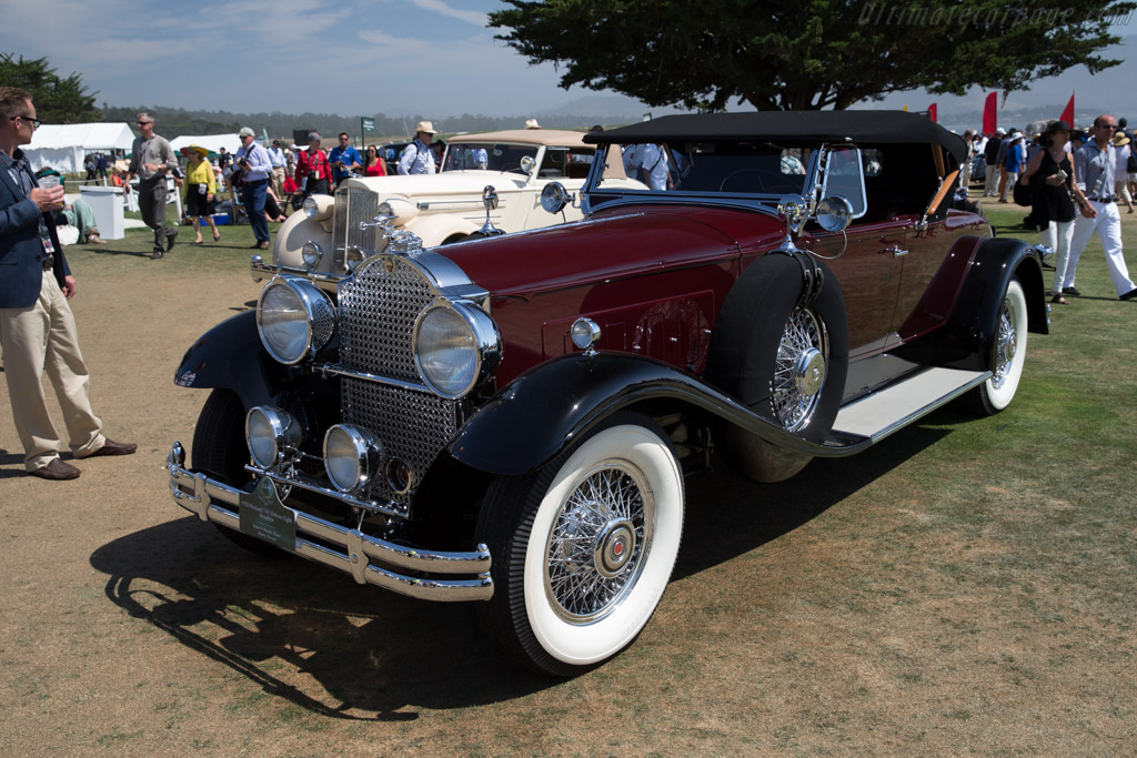Packard 745 Deluxe Eight Roadster  - Entrant: Robert & Brigitte Thayer  - 2015 Pebble Beach Concours d'Elegance