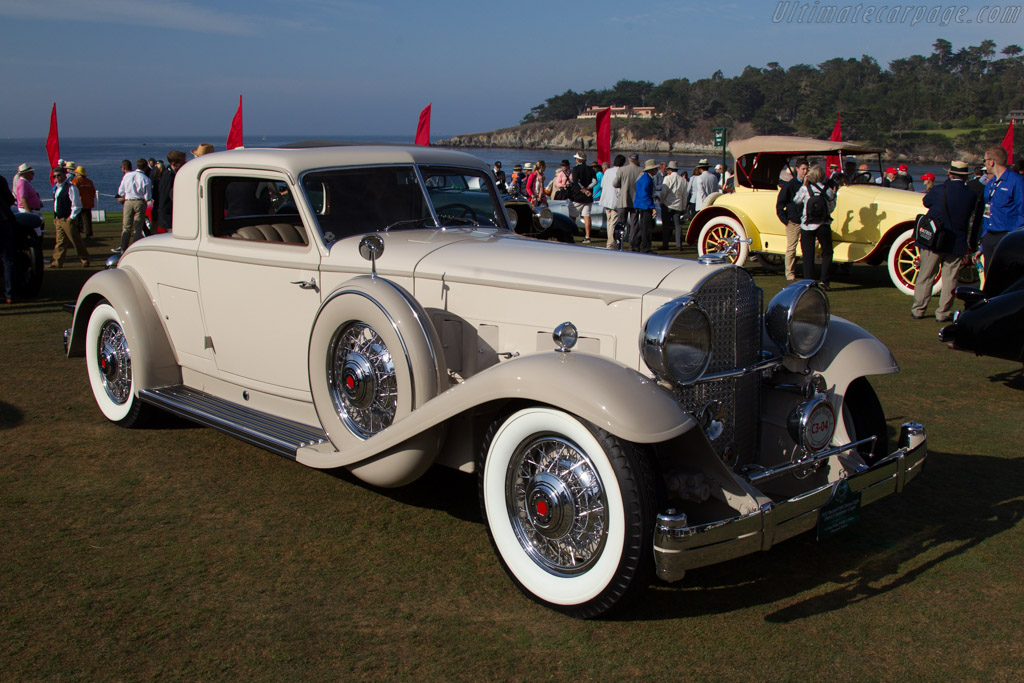 Packard 904 Deluxe Eight Dietrich Stationary Coupe  - Entrant: N. Gene & Sally A. Perkins  - 2015 Pebble Beach Concours d'Elegance