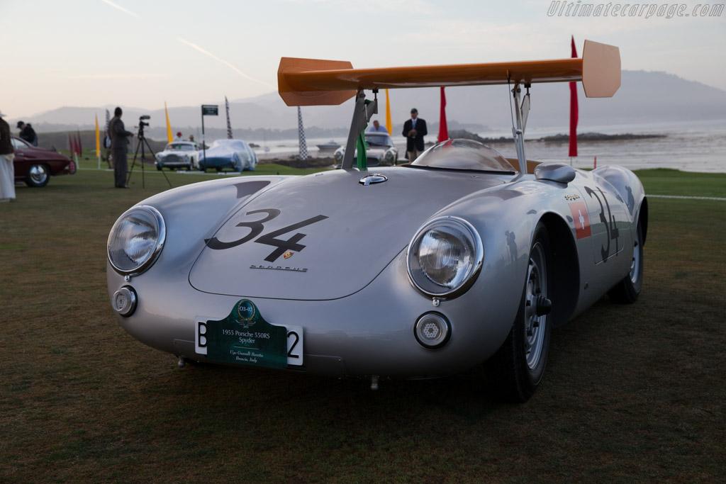 Porsche 550 RS - Chassis: 550-0031 - Entrant: Ugo Gussalli Beretta  - 2015 Pebble Beach Concours d'Elegance