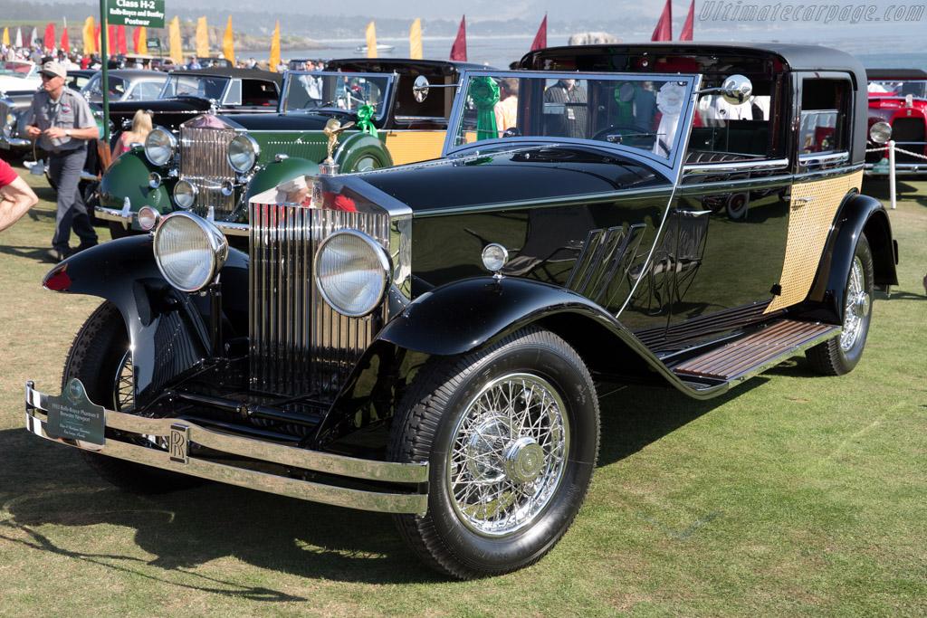 Rolls-Royce Phantom II Brewster Newport  - Entrant: Peter & Marijane Thornton  - 2015 Pebble Beach Concours d'Elegance