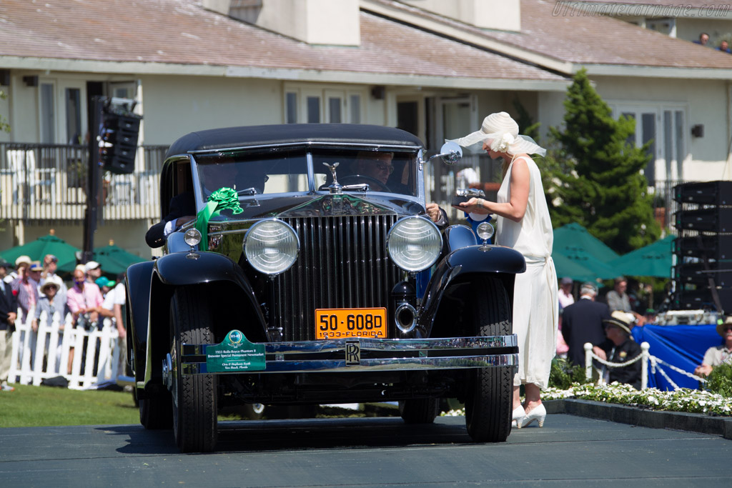 Rolls-Royce Phantom II Brewster Special Permanent Newmarket - Chassis: 289AJS - Entrant: Orin & Stephanie Smith  - 2015 Pebble Beach Concours d'Elegance
