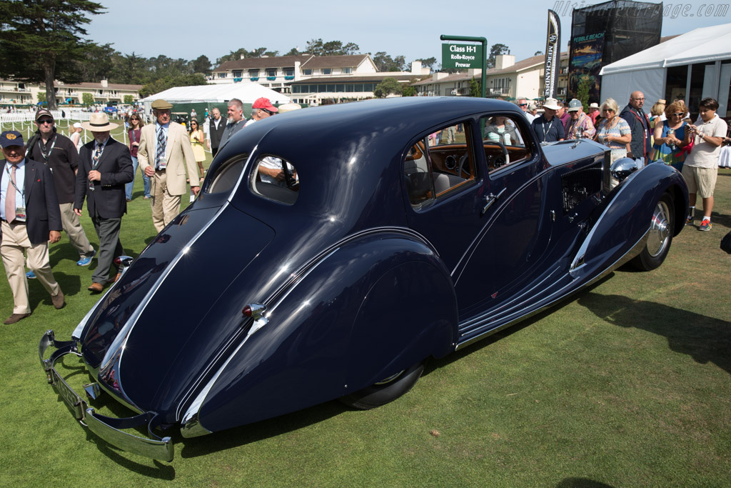 Rolls-Royce Phantom II Continental Figoni & Falaschi Pillarless Berline  - Entrant: Don Williams  - 2015 Pebble Beach Concours d'Elegance
