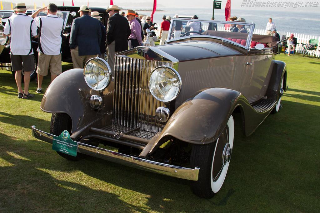 Rolls-Royce Phantom II Continental Kellner 3-Position Cabriolet  - Entrant: Don Williams  - 2015 Pebble Beach Concours d'Elegance