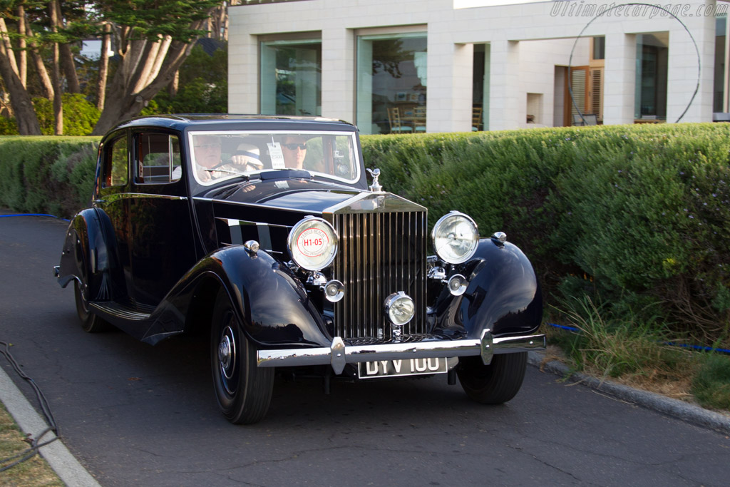 Rolls-Royce Phantom III Hooper Limousine  - Entrant: Bill & Alice Habeger  - 2015 Pebble Beach Concours d'Elegance