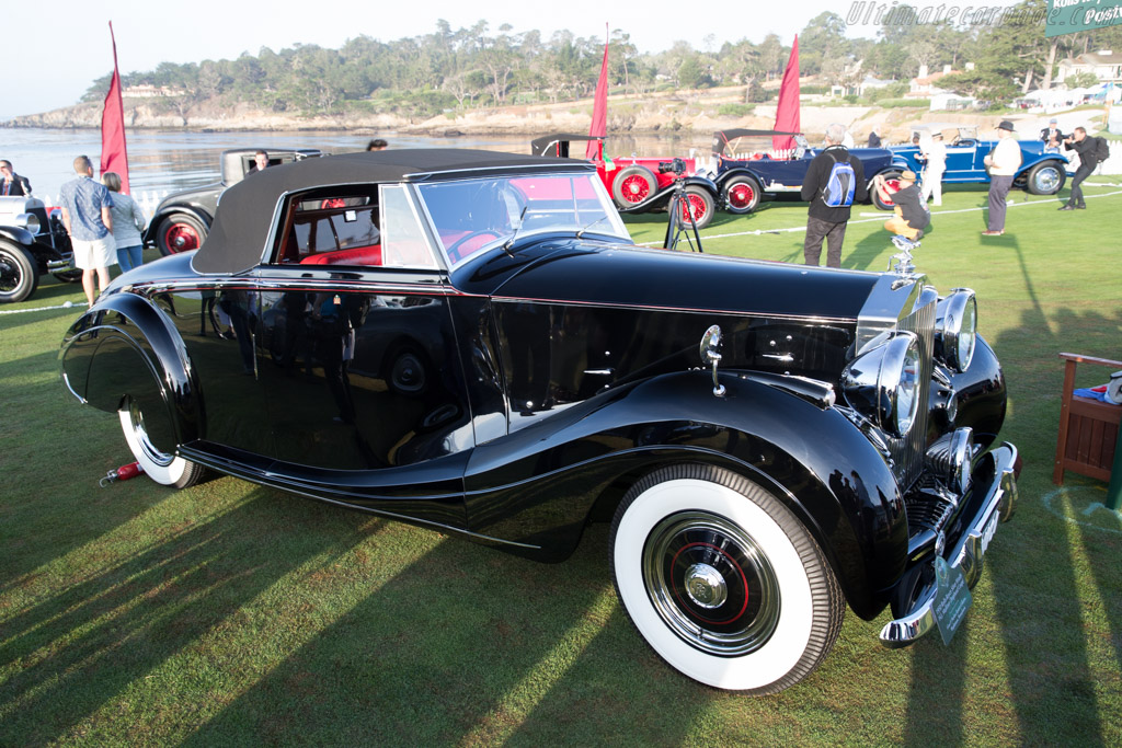 Rolls-Royce Silver Wraith Mulliner Drophead Coupe - Chassis: WGG48 - Entrant: Gene & Marlene Epstein Collection  - 2015 Pebble Beach Concours d'Elegance