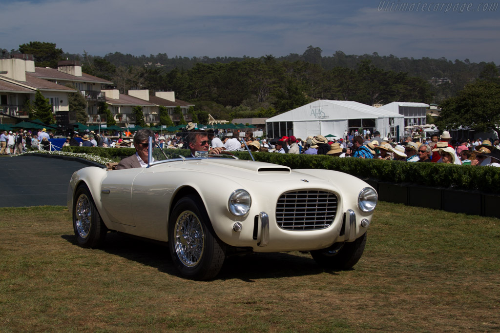 Siata 208S Motto Spider - Chassis: BS518 - Entrant: Jan de Reu  - 2015 Pebble Beach Concours d'Elegance