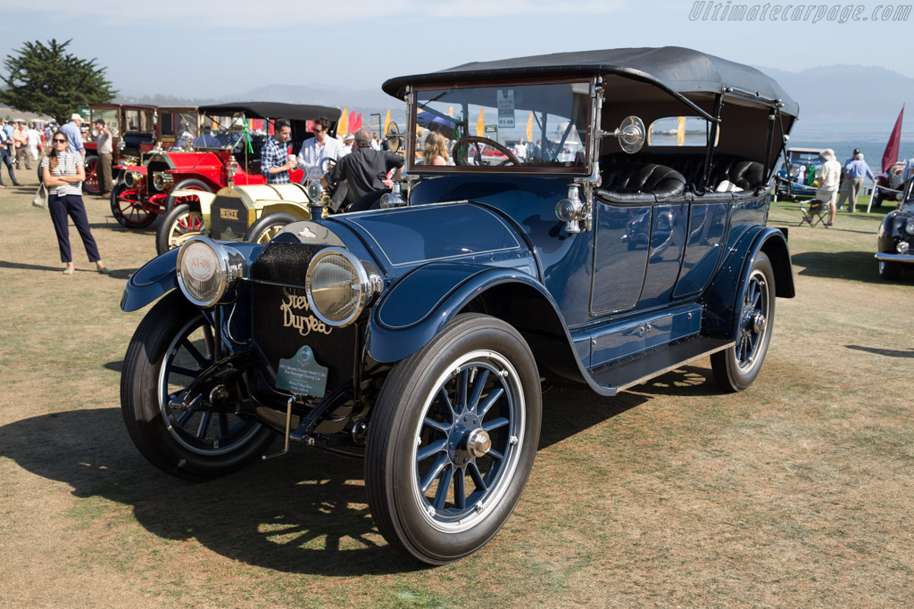 Stevens-Duryea Model C-Six Five Passenger Touring Car  - Entrant: Whitney & Diane Haist  - 2015 Pebble Beach Concours d'Elegance