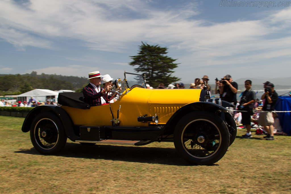 Stutz Series H Bearcat - Chassis: 5067 - Entrant: Stanley & Merle Bauer  - 2015 Pebble Beach Concours d'Elegance