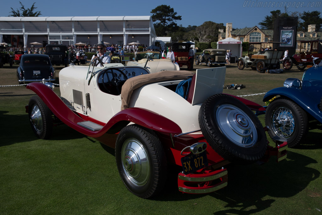 duPont Model G Merrimac Speedster  - Entrant: Willis H. du Pont  - 2015 Pebble Beach Concours d'Elegance