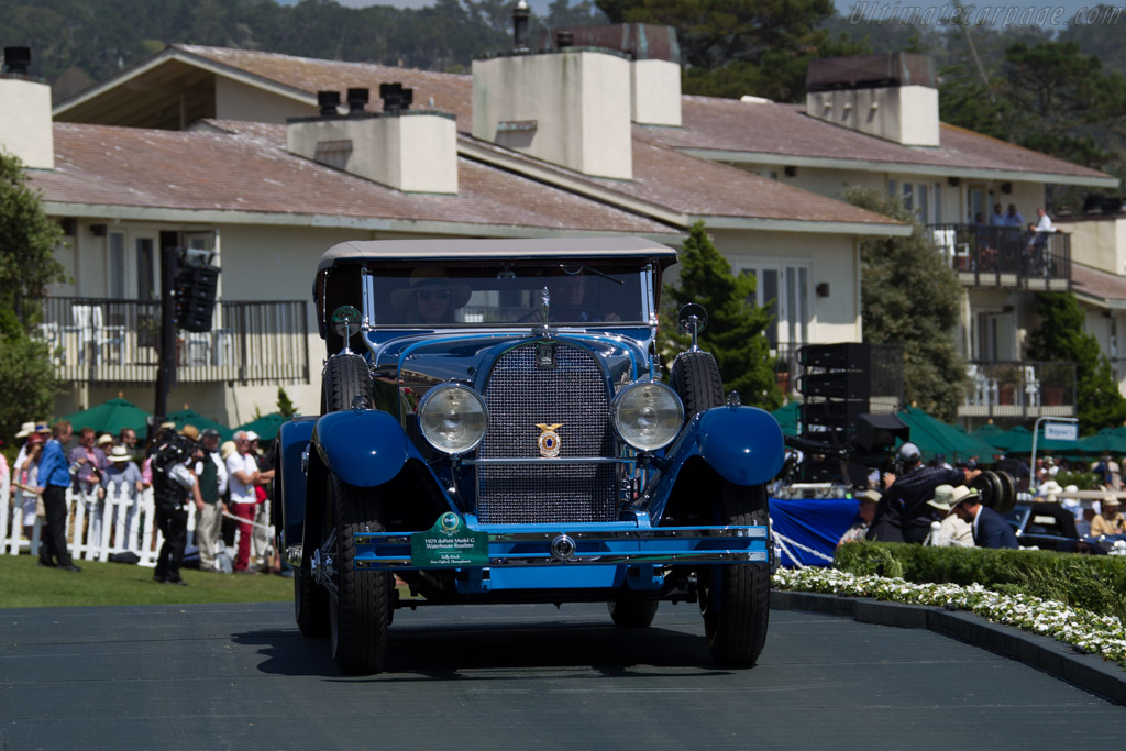 duPont Model G Waterhouse Roadster  - Entrant: Kelly Kinzle  - 2015 Pebble Beach Concours d'Elegance