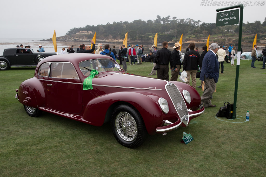 Alfa Romeo 6C 2500 S Touring Berlinetta - Chassis: 915033 - Entrant: Imtiaz Mohammed Sheikh & Kenneth Sterns  - 2016 Pebble Beach Concours d'Elegance
