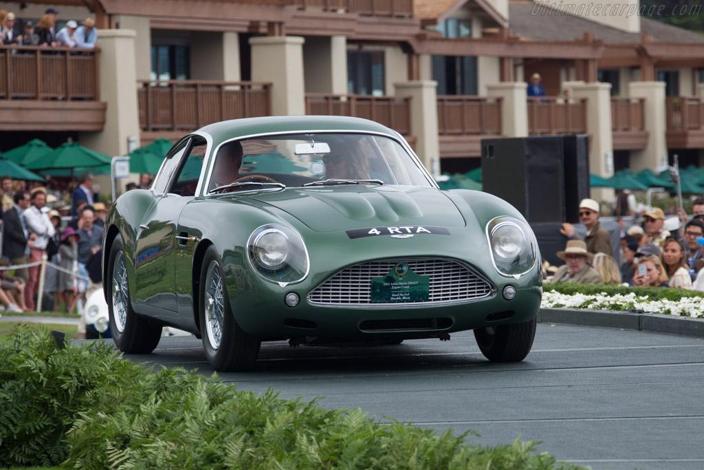 Aston Martin DB4 GT Zagato - Chassis: DB4GT/0186/R - Entrant: David MacNeil  - 2016 Pebble Beach Concours d'Elegance