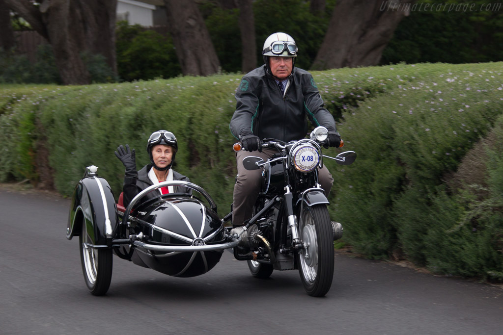 BMW R69S with Steib S500 Sidecar  - Entrant: Theresa Worsch and Daniel Reichel  - 2016 Pebble Beach Concours d'Elegance