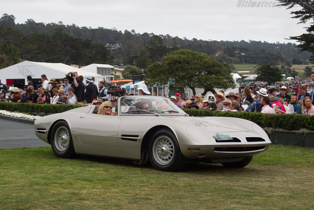 Bizzarrini 5300 Spyder Prototype - Chassis: IA3 0245 - Entrant: Allison & Mark Stassak  - 2016 Pebble Beach Concours d'Elegance