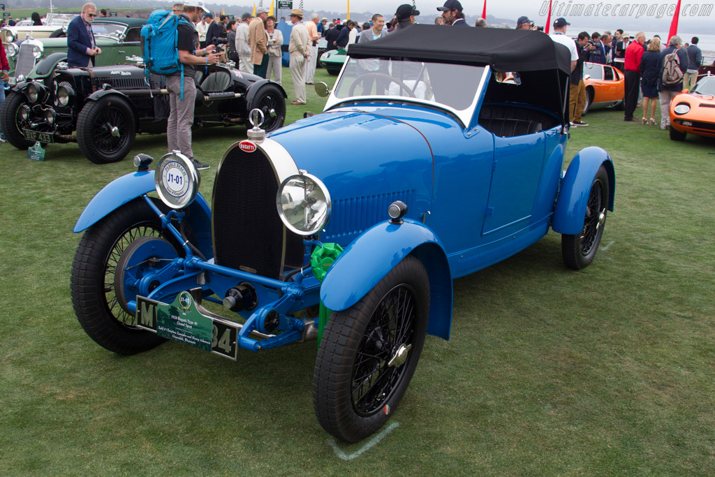 Bugatti Type 40 Grand Sport - Chassis: 40796 - Entrant: Tedd & Christina Zamjahn  - 2016 Pebble Beach Concours d'Elegance