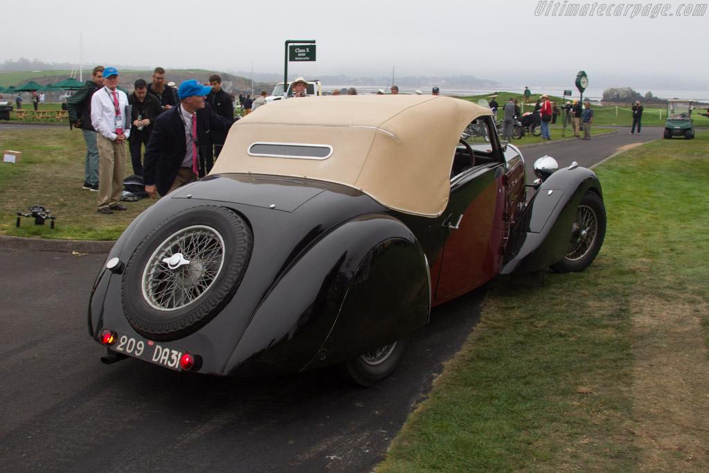 Bugatti Type 57 Gangloff Stelvio  - Entrant: LBI Limited  - 2016 Pebble Beach Concours d'Elegance