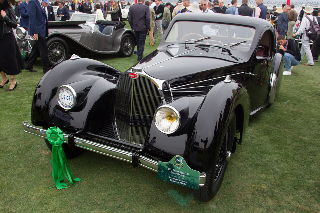 Bugatti Type 57 S Gangloff Coupe - Chassis: 57532 - Entrant: Rare Wheels Collection  - 2016 Pebble Beach Concours d'Elegance