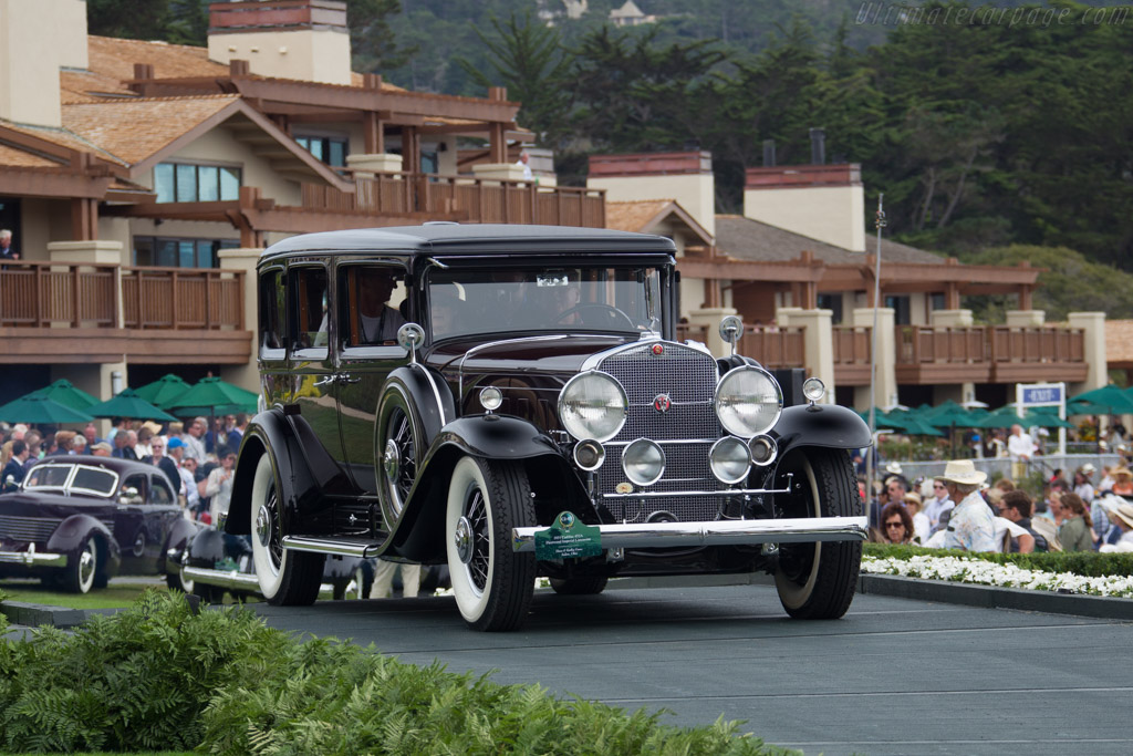Cadillac 452A Fleetwood Imperial Limousine  - Entrant: David & Kathy Gano  - 2016 Pebble Beach Concours d'Elegance