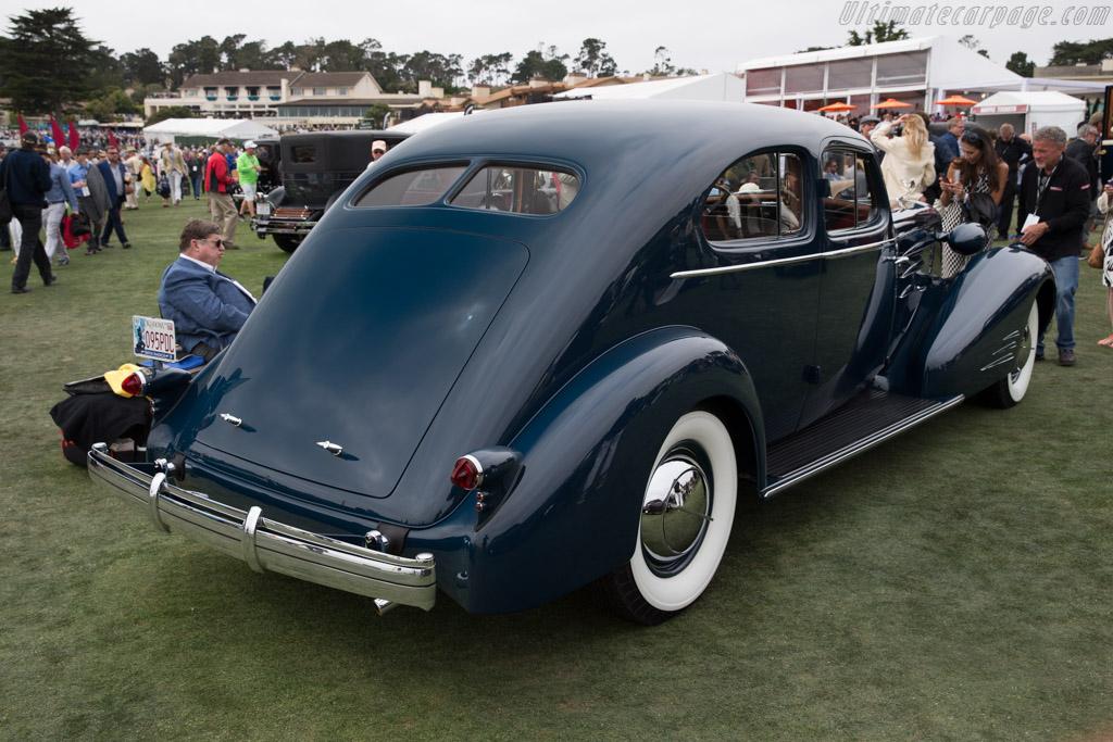 Cadillac Series 90 Fleetwood Aerodynamic Coupe  - Entrant: John D. Groendyke  - 2016 Pebble Beach Concours d'Elegance