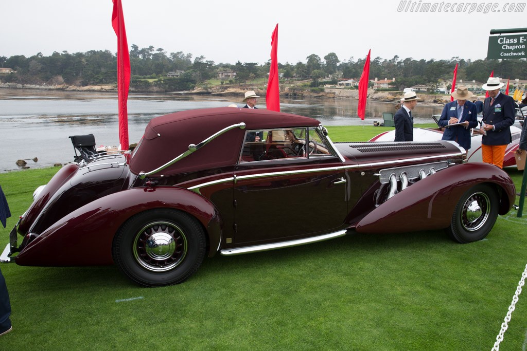 Delage D8-120 Chapron Cabriolet - Chassis: 51760 - Entrant: Merle & Peter Mullin  - 2016 Pebble Beach Concours d'Elegance