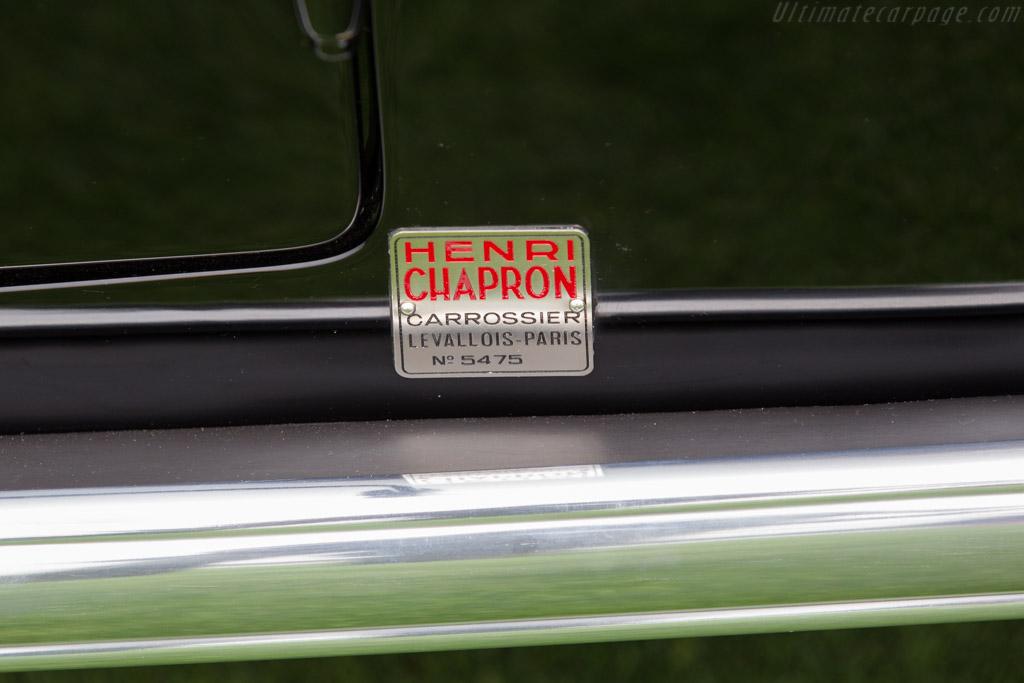 Delahaye 135 Chapron Coupe des Alpes - Chassis: 47545 - Entrant: Jon Shirley & Kim Richter  - 2016 Pebble Beach Concours d'Elegance