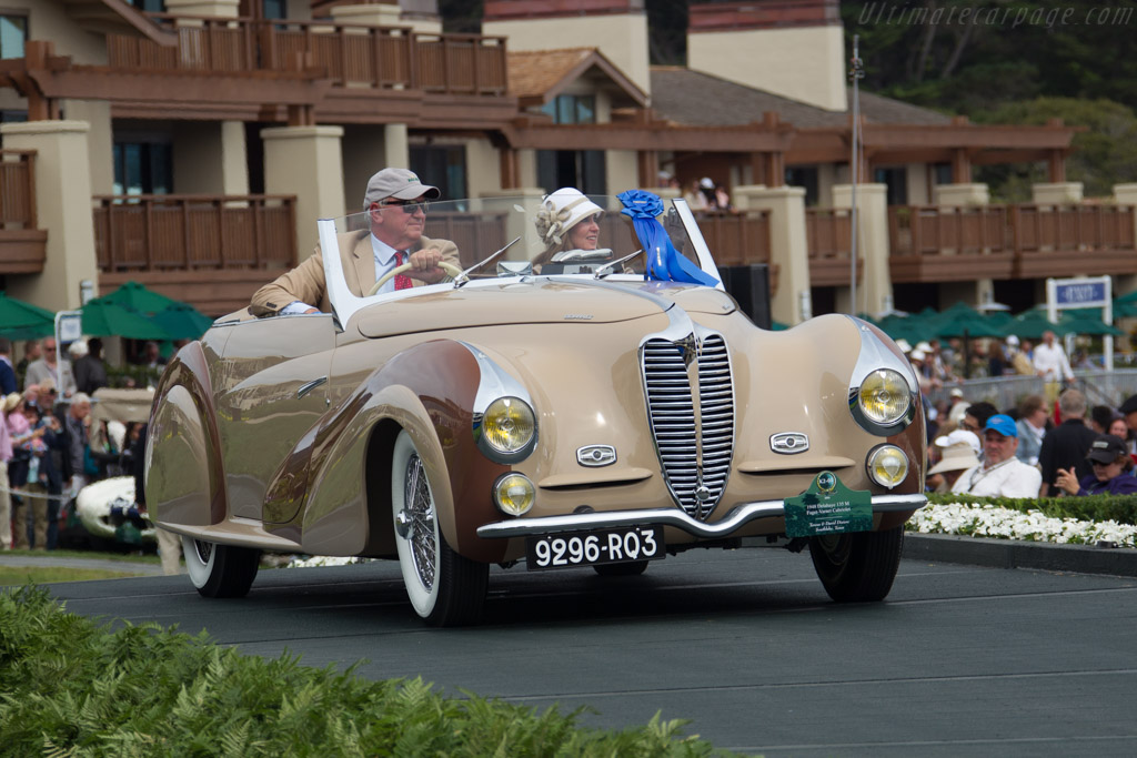 Delahaye 135 M Faget-Vernet Cabriolet - Chassis: 800745 - Entrant: Teresa & David Disiere  - 2016 Pebble Beach Concours d'Elegance