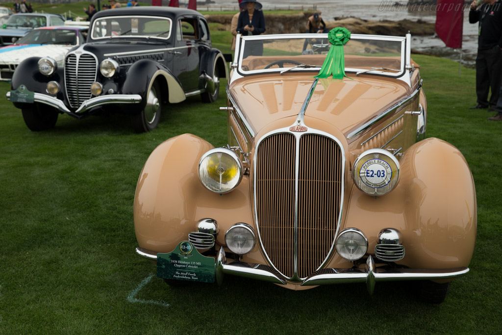 Delahaye 135 MS Chapron Cabriolet  - Entrant: The Atwell Family - 2016 Pebble Beach Concours d'Elegance