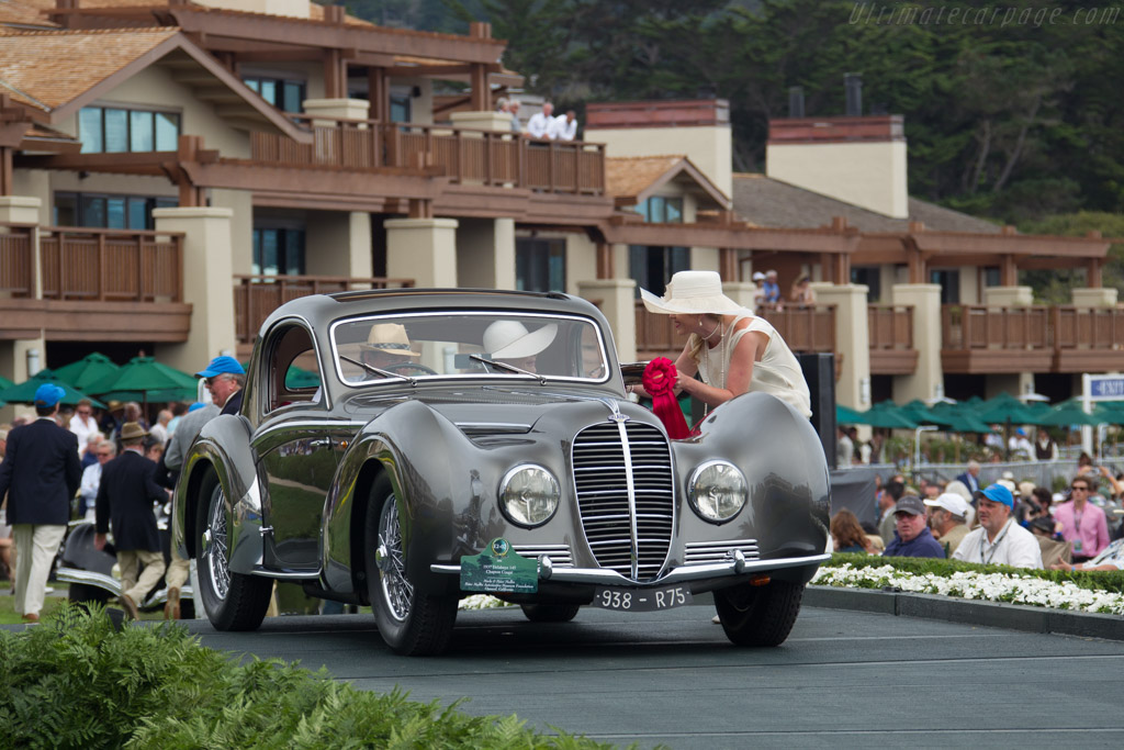 Delahaye 145 Chapron Coupe - Chassis: 48773 - Entrant: Merle & Peter Mullin  - 2016 Pebble Beach Concours d'Elegance