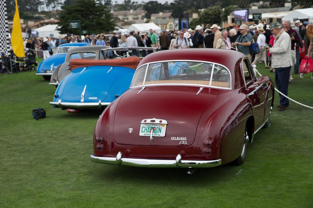Delahaye 235 Coupe de Luxe - Chassis: 818032 - Entrant: Tampa Bay Automobile Museum  - 2016 Pebble Beach Concours d'Elegance