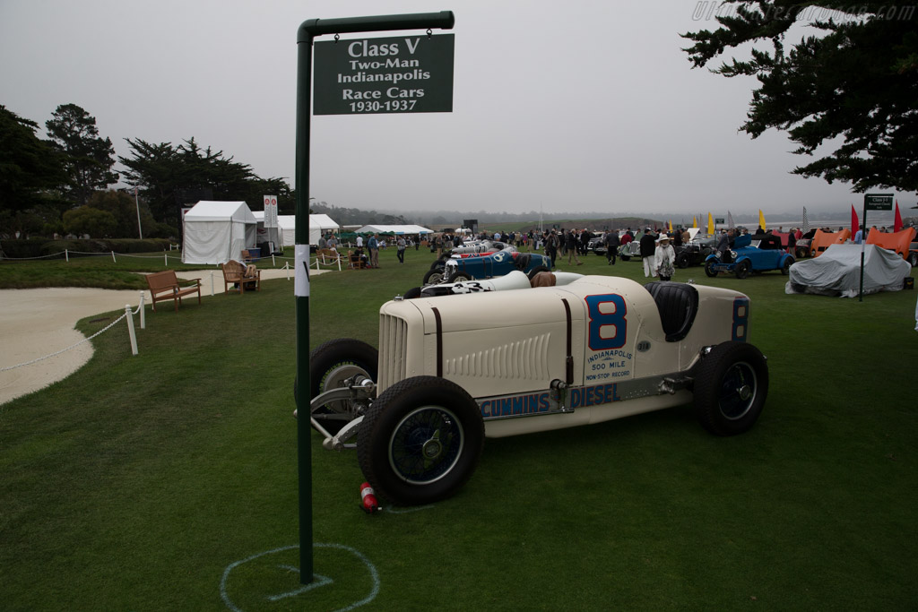 Duesenberg Cummins Diesel Special  - Entrant: Indianapolis Motor Speedway Museum  - 2016 Pebble Beach Concours d'Elegance