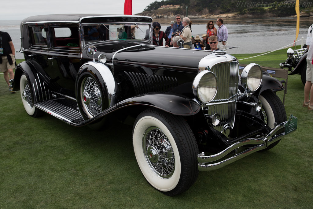 Duesenberg J Derham Arlington Sedan - Chassis: 2504 - Entrant: Mary & Ted Stahl  - 2016 Pebble Beach Concours d'Elegance