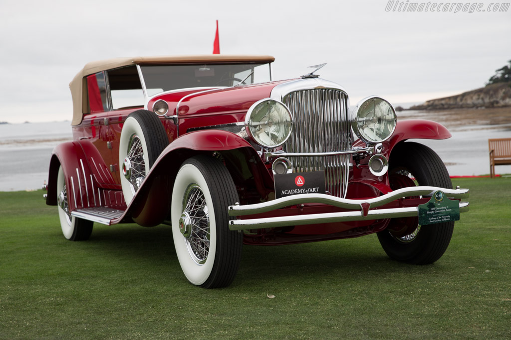 Duesenberg J Murphy Convertible Sedan - Chassis: 2228 - Entrant: Academy of Art University  - 2016 Pebble Beach Concours d'Elegance