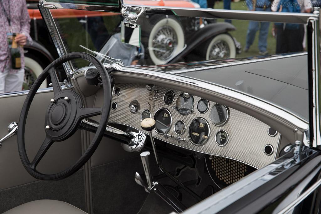 Duesenberg SJ Bohman & Schwartz Convertible Coupe - Chassis: J-509 - Entrant: Harry Yeaggy  - 2016 Pebble Beach Concours d'Elegance