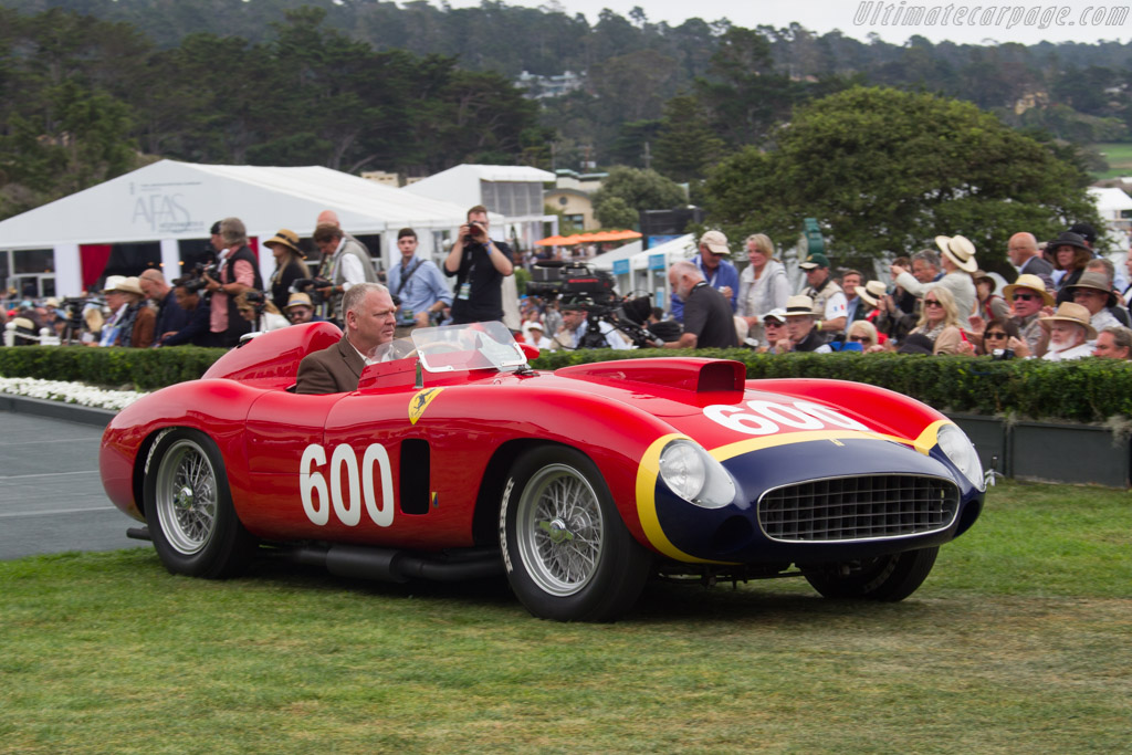 Ferrari 290 MM Scaglietti Spyder - Chassis: 0626 - Entrant: Les Wexner  - 2016 Pebble Beach Concours d'Elegance