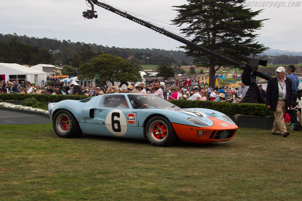 Ford GT40 MkI Gulf - Chassis: GT40P/1075 - Entrant: Rocky Mountain Auto Collection  - 2016 Pebble Beach Concours d'Elegance