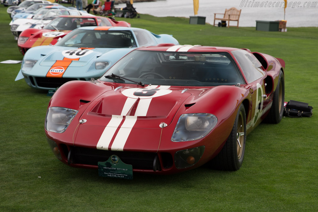 Ford GT40 MkII - Chassis: XGT-3 - Entrant: Motor Classic & Competition Corp  - 2016 Pebble Beach Concours d'Elegance