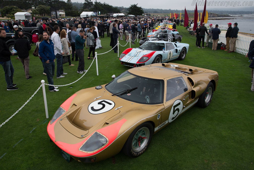 Ford GT40 MkII - Chassis: GT40P/1016 - Entrant: Claude & Sylvie Nahum  - 2016 Pebble Beach Concours d'Elegance