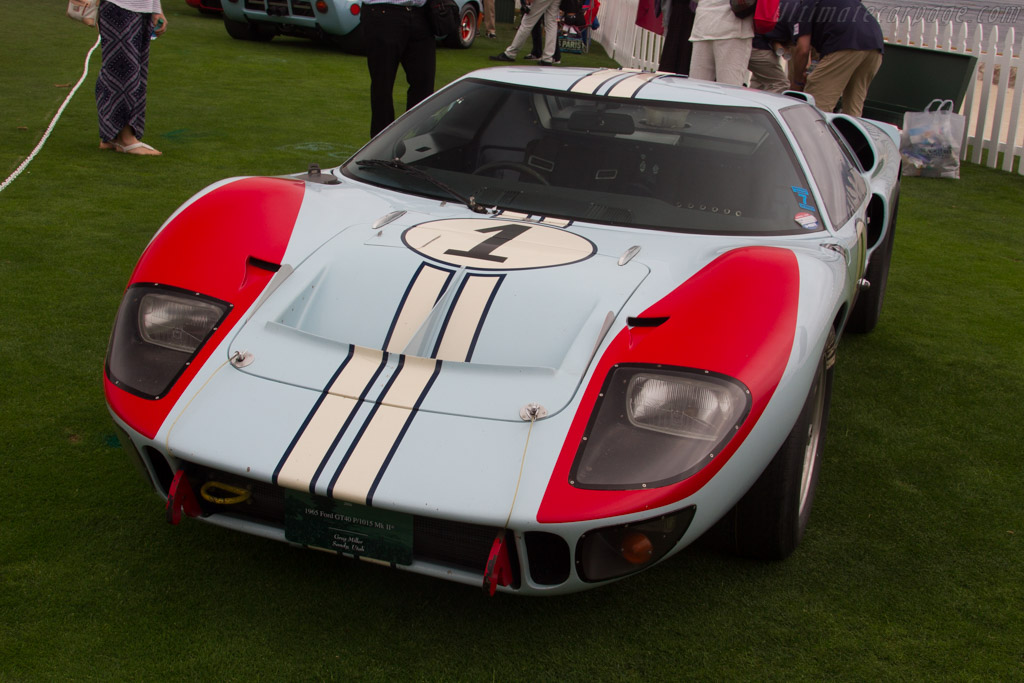 Ford GT40 MkII - Chassis: GT40P/1015 - Entrant: Greg Miller  - 2016 Pebble Beach Concours d'Elegance